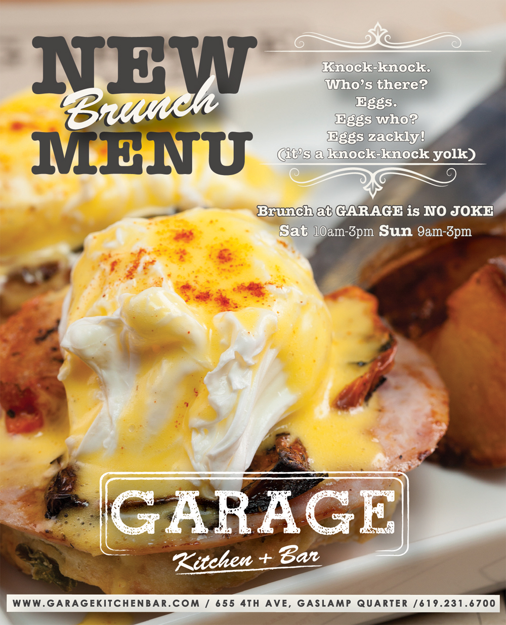 New Brunch Menu premieres 10/10